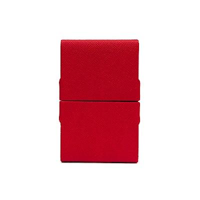 FEDON 1919 Classica經典皮面雙開名片夾-紅