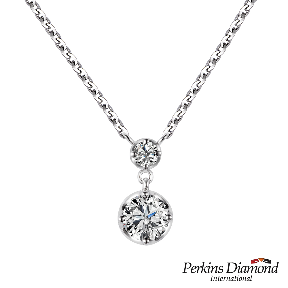 PERKINS 伯金仕 - GIA Princess系列 0.30克拉鑽石項鍊