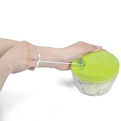 日本Pearl迴力拉繩食材快速研磨器