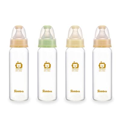 小獅王辛巴 超輕鑽標準玻璃大奶瓶4支組(240ml)