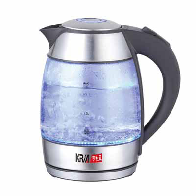KRIA可利亞1.8L玻璃炫光快煮壼 KR-1735