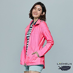 【LACHELN】Coolmax顯瘦防曬風衣外套(L71W506)