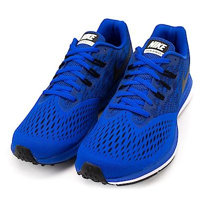 NIKE ZOOM WINFLO  4  男慢跑鞋  898466402  藍