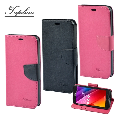 Topbao ASUS Zenfone 2 Laser 5.0 輕盈側立磁扣皮套