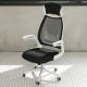 IDEA-亞斯加大頭頸枕舒適高背電腦椅-PU靜音滑