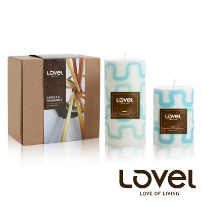【LOVEL】香氛手工蠟燭組(拼圖系列-海洋)