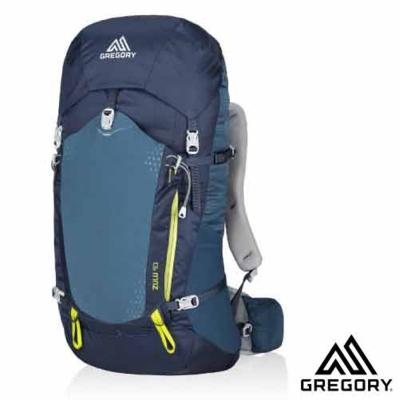 【美國 GREGORY】Zulu 40 網架式健行登山背包(M號)_海藍