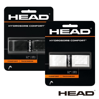 HEAD HydroSorb Comfort 底層握把布-2卡 (黑、白任選)
