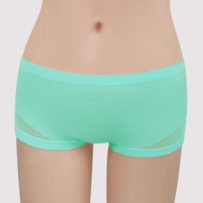 曼黛瑪璉 紓壓好動IceBar無鋼圈   低腰平口內褲(清雅綠)