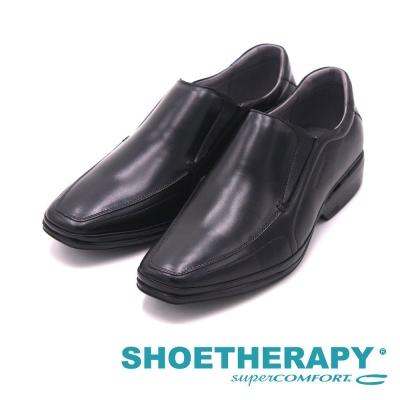 SAPATOTERAPIA 巴西時尚簡約方頭皮鞋 男鞋-黑