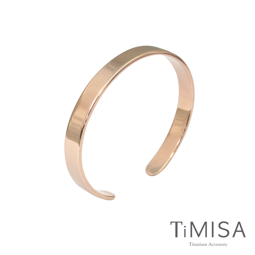 TiMISA《至愛品藏》純鈦手環(雙色可選)