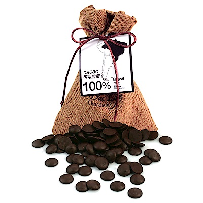 Diva Life 鈕扣巧克力 巴西100%黑巧克力