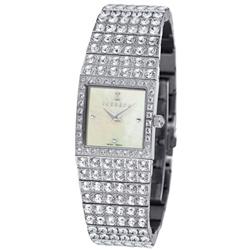 ICEBERG 璀璨風華珍珠母鑽錶-白貝x白鑽/23mm