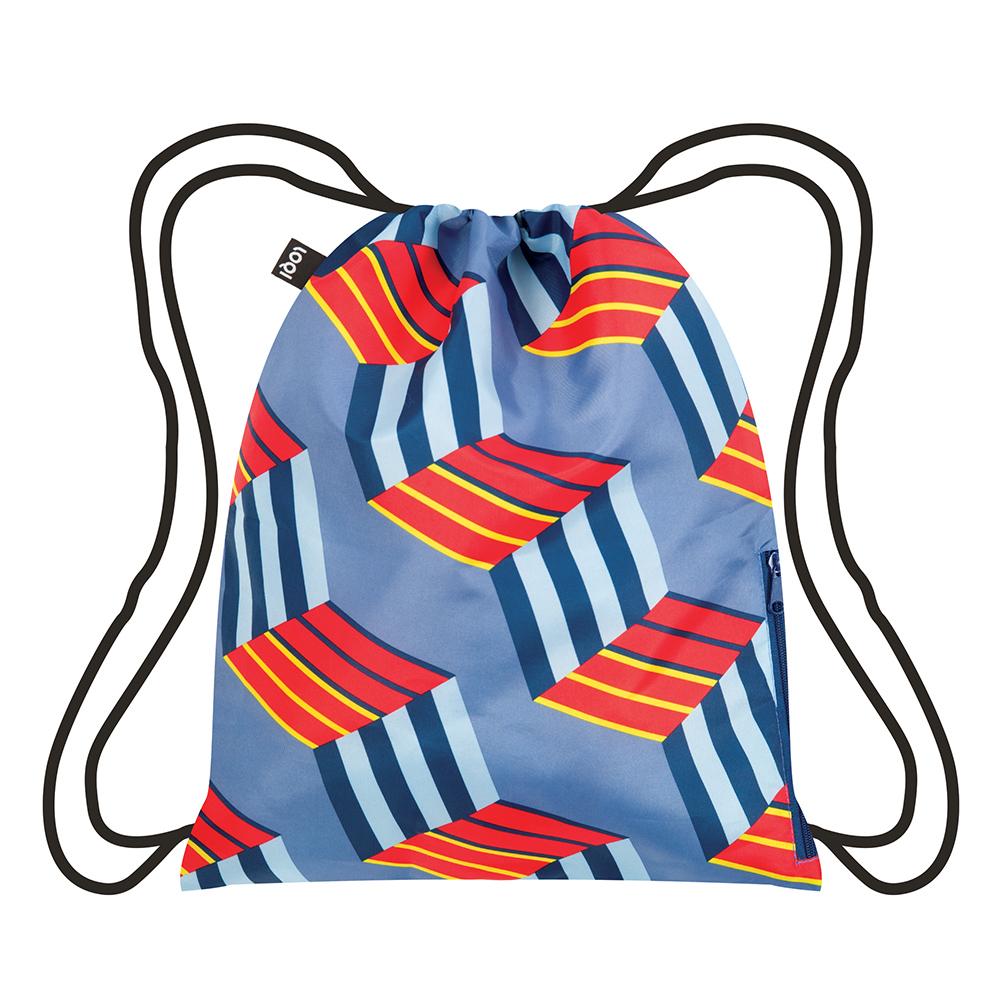 LOQI 束口後背包│立方體