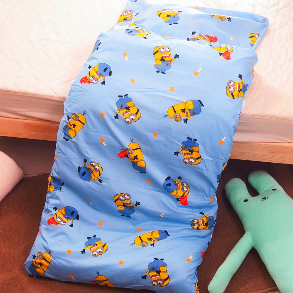 小小兵-淺藍 台灣精製兒童睡袋