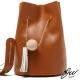 JW-水桶包-真皮迷戀尼斯流蘇肩側包-共六色