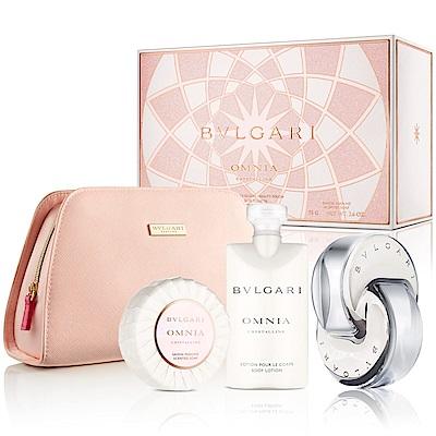 BVLGARI寶格麗晶澈香氛禮盒-送紙袋+針管隨機款
