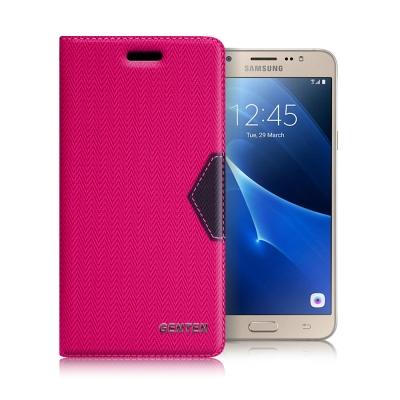 GENTEN Samsung Galaxy J7 (2016) 簡約守護磁力皮套