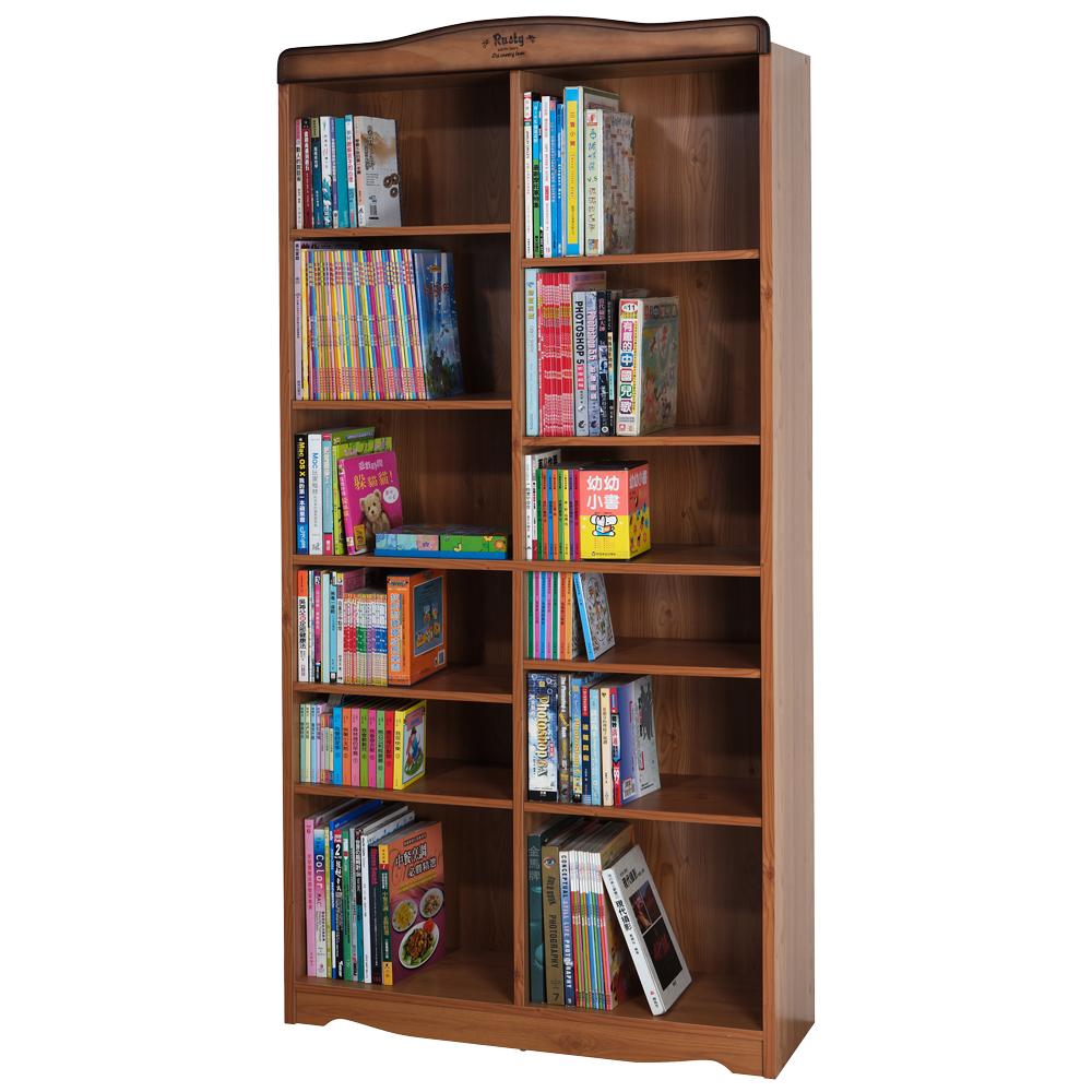 Rusty 復古十二格書櫃/置物櫃