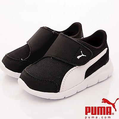 PUMA童鞋 輕量經典流線款 90943-01 黑 (小童段)