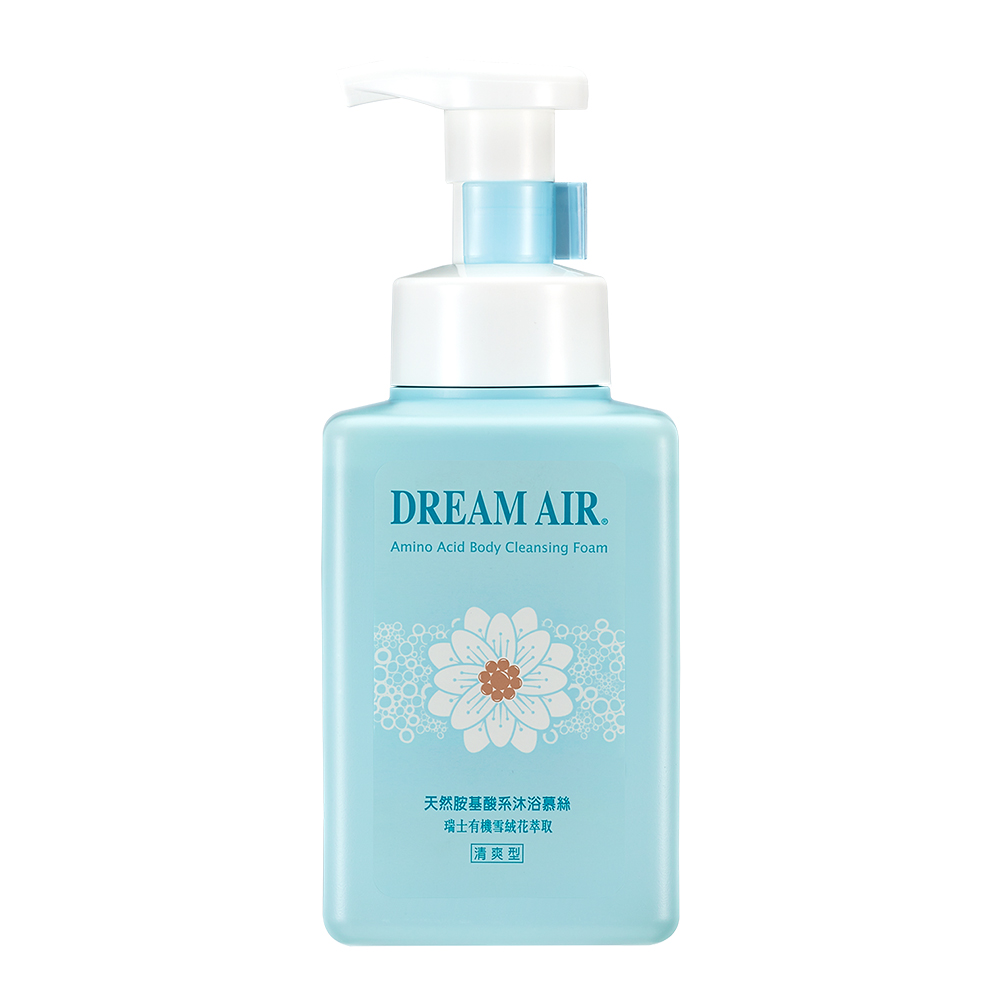 Dream Air光容綺肌 天然胺基酸系沐浴慕絲500g-清爽型