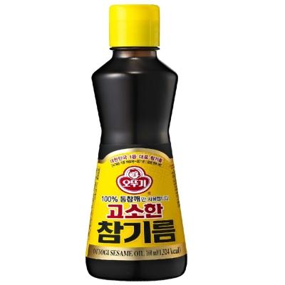 OTTOGI不倒翁 100%純芝麻油(160ml)