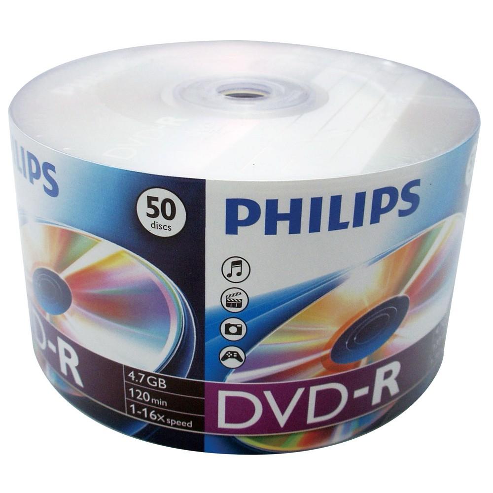 PHILIPS 飛利浦 16X DVD-R 200片