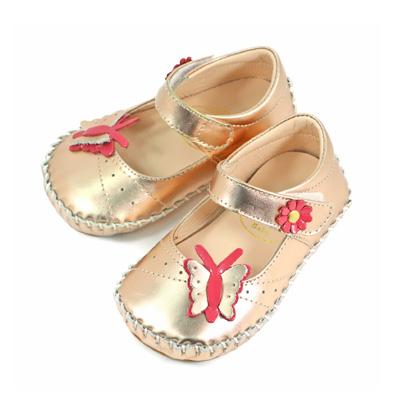 Swan天鵝童鞋-蝴蝶寶寶學步鞋1582-金