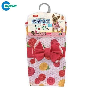 MARUKAN 日本 涼感日式花紋浴衣 3種尺寸