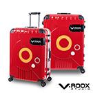 V-ROOX ZERO  28吋 (銀框)   時尚潮版 撞色太空艙 鋁框行李箱