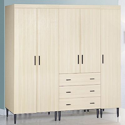 AS-衛威恩6.6尺雪松組合衣櫃-200x56x193cm