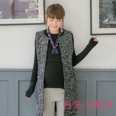 日系小媽咪孕婦裝-韓製哺乳衣-厚棉素面上衣-共三色