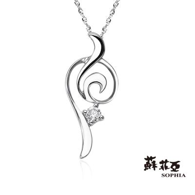 蘇菲亞SOPHIA 鑽石項鍊-sweet heart 系列鑽鍊