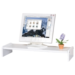 Homelike 伸縮式桌上型置物架(兩色任選)