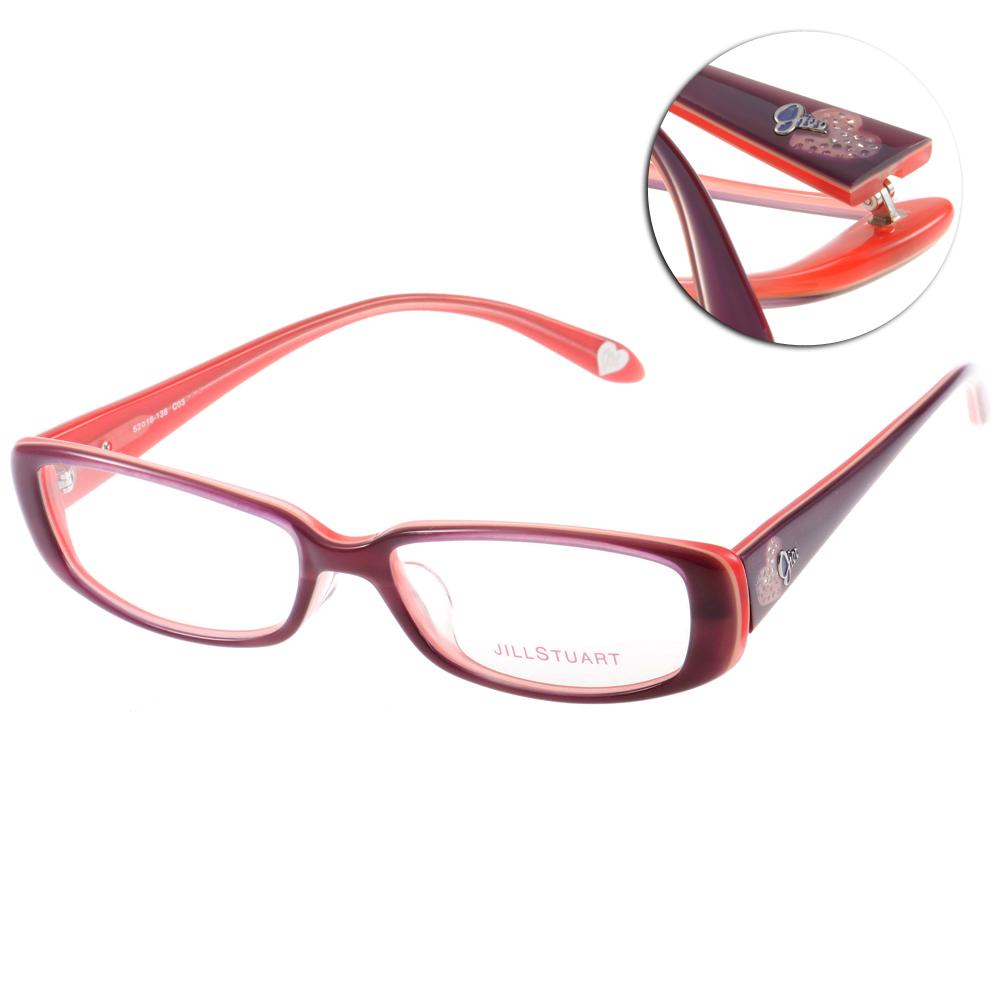JILL STUART眼鏡 甜美夢幻/橘紅#JS60004 CO3 @ Y!購物
