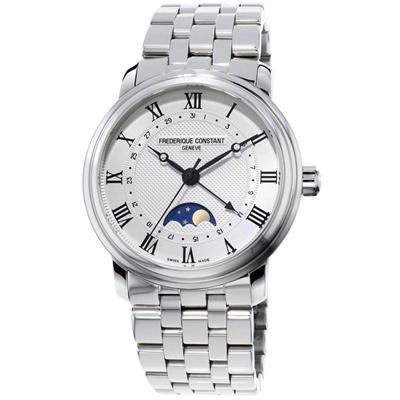 康斯登 CONSTANT  CLASSICS百年經典系列月相腕錶 -40mm