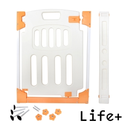 Life Plus 兒童居家安全防護門欄/寵物門欄 (另含加裝條X2)