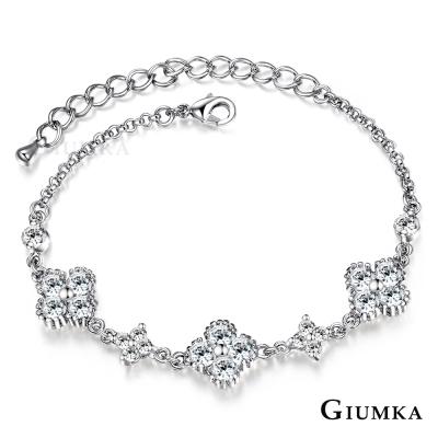 GIUMKA 花之物語 手鍊-銀色