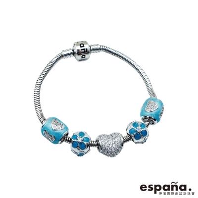ESPANA伊潘娜 飛上心頭純銀串珠手鍊