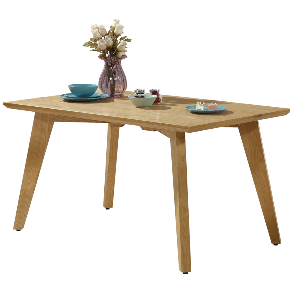 AT HOME-葛麗絲4.3尺原木餐桌