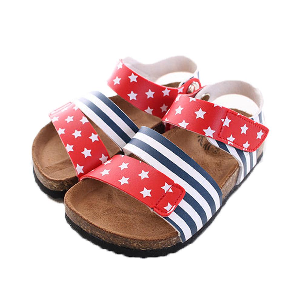 星星旗涼鞋 sh9739