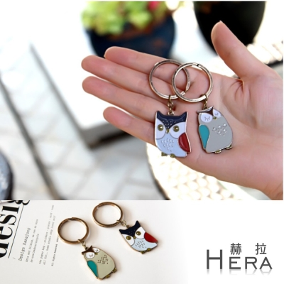 Hera 赫拉 萌物貓頭鷹鑰匙環吊飾-二色