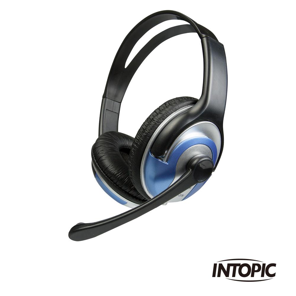 INTOPIC 廣鼎 頭戴式耳機麥克風(JAZZ-376)