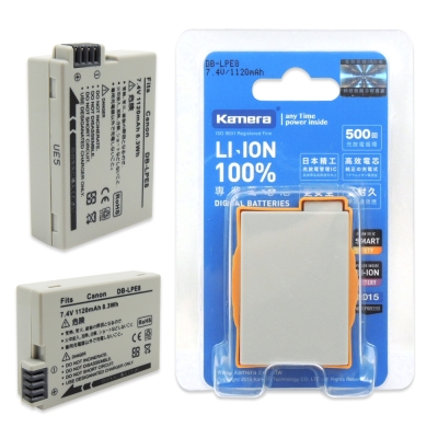 Kamera 佳美能 For Canon LP-E8 高容量相機鋰電池