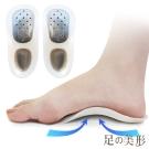 足的美形  三段可調式足弓輔助墊(1雙)