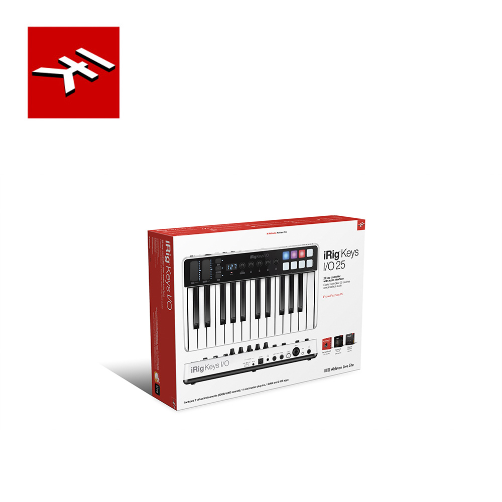 IK Multimedia iRig Keys I/O 25 多功能控制鍵盤 25鍵