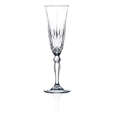 義大利RCR梅洛迪無鉛水晶香檳酒杯(6入)160cc