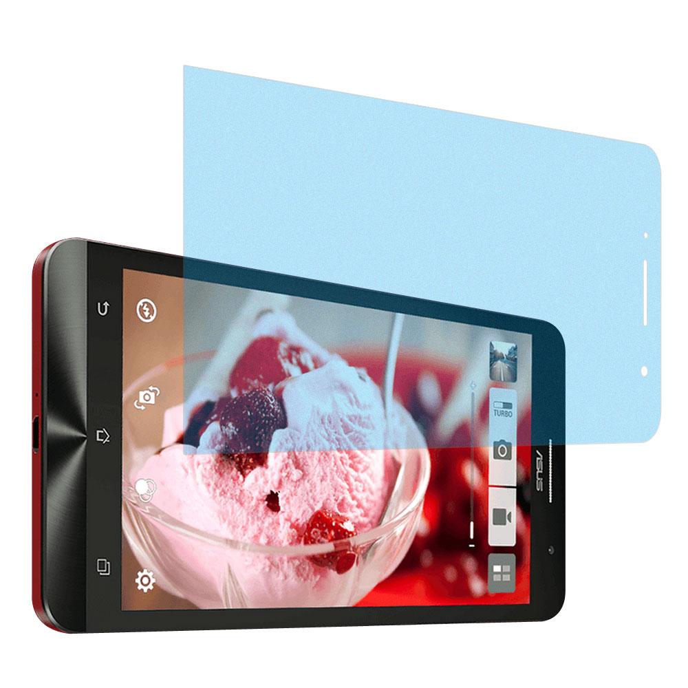 Yourvision ASUS ZenFone 6 一指無紋防眩光抗刮霧面螢幕貼-贈鏡頭膜