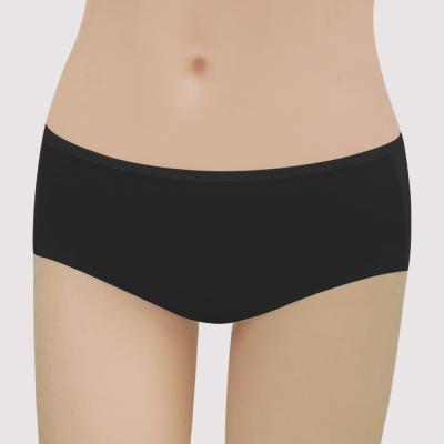 曼黛瑪璉-16SS紓壓好動-保氧  低腰寬邊三角無痕內褲(黑)