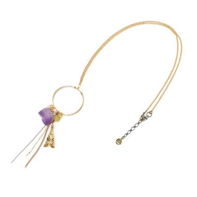 Luce Costante La gemme系列紫水晶項鍊